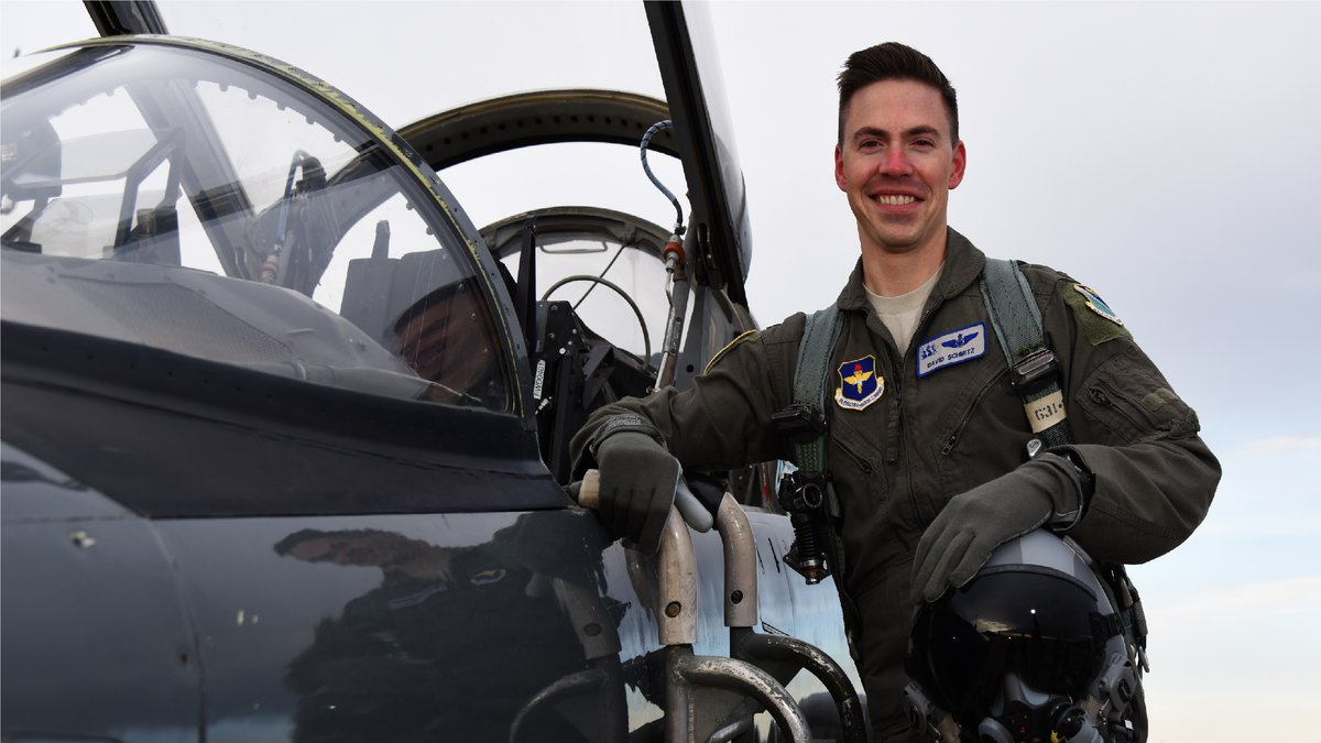 Air Force pilot 1st Lt. David Schmitz was 32 years old when he died in the crash.