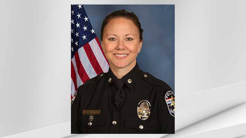 Louisville Metro Police Department Major Bridget Hallahan has been removed from her position as...