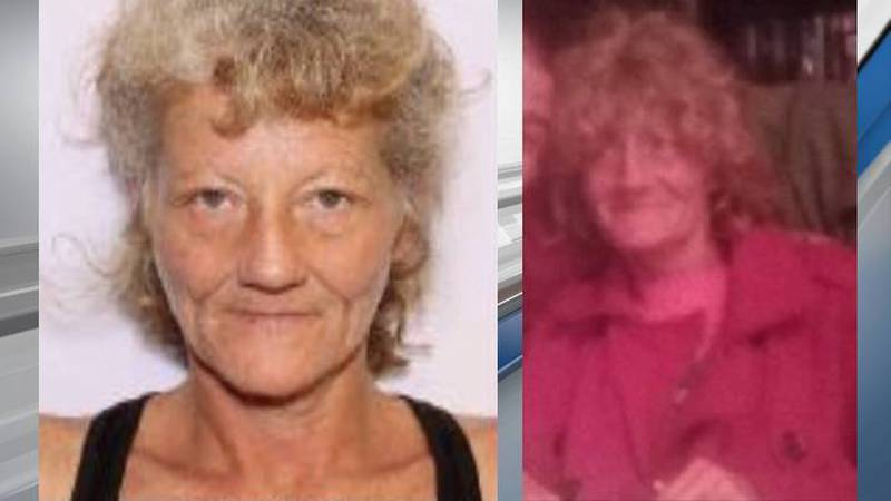 Tina Warren, 52, was last seen on Gibson Road around 4:30 p.m. Friday, officers said.