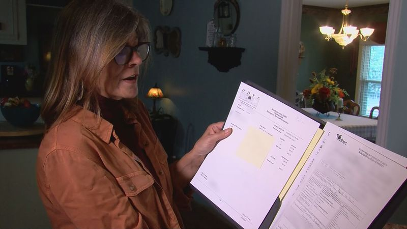 On December 29, Cheryl Jackson and her daughter requested her husband's death certificate, but...