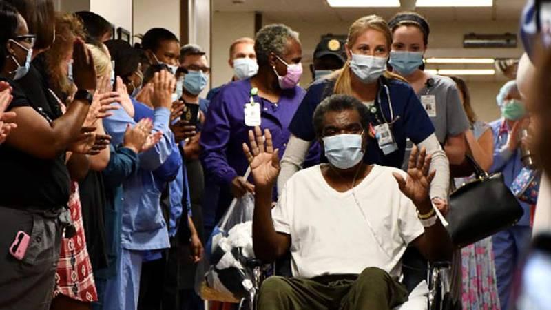 James Linder left Colleton Medical Center after a 65-day fight against COVID-19.