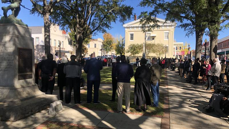 Newberry community stands together against violence