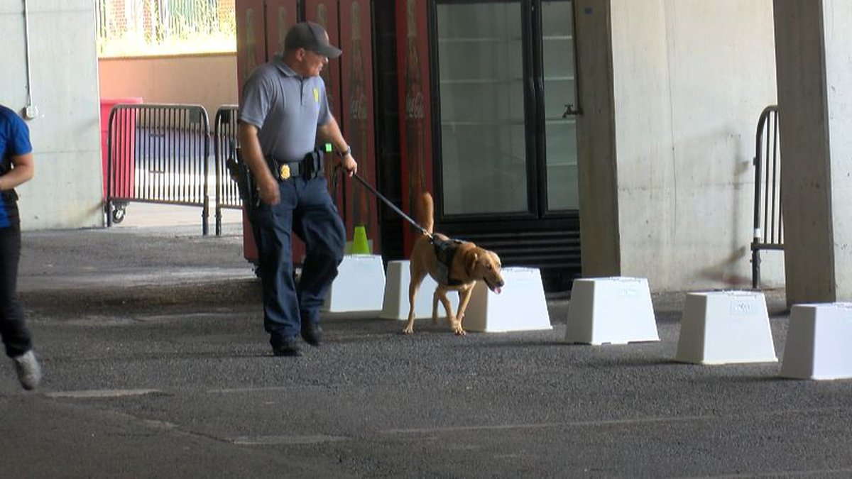 SC agencies take part in Explosives Training for SC K-9 Units