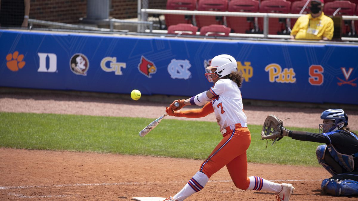 In Clemson's first postseason opportunity, the Tigers mustered three hits and were unable to...