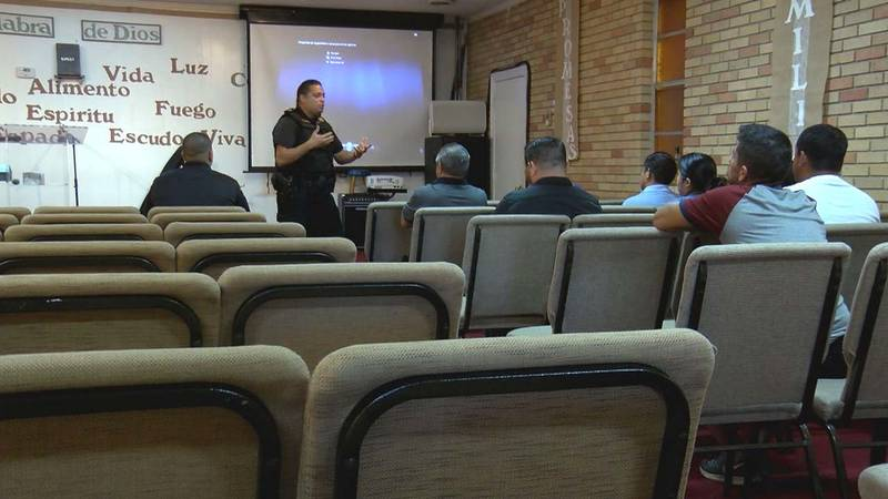 The active shooter training was put on by the Richland County Sheriff's Department at Centro...