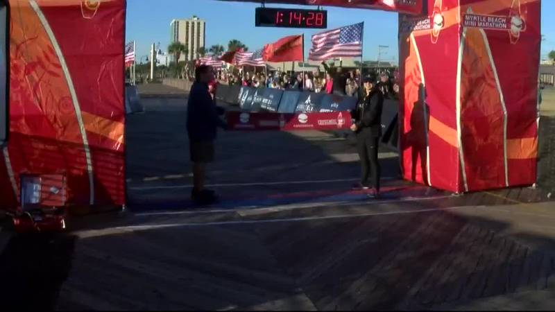 The Myrtle Beach Mini Marathon that was set for Sunday has been canceled due to the threat of...