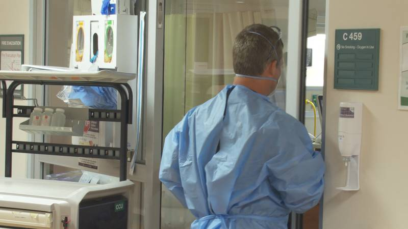 COVID-19 surge challenges hospital capacity and manpower