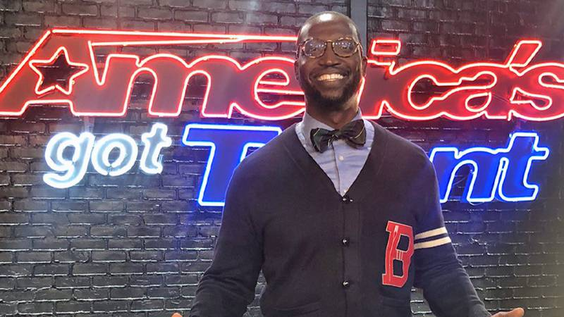 Local comedian, Mike Goodwin, will appear tonight on NBC's America's Got Talent!