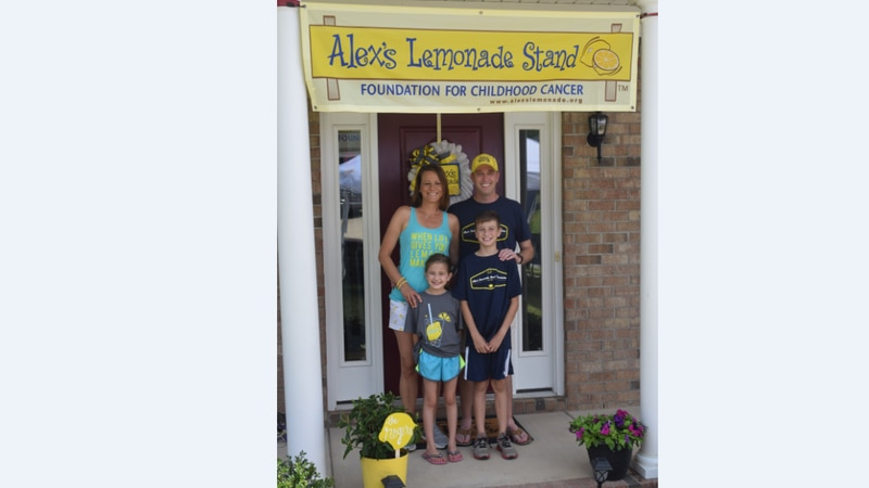 Irmo family gives back to charity through annual lemonade stand