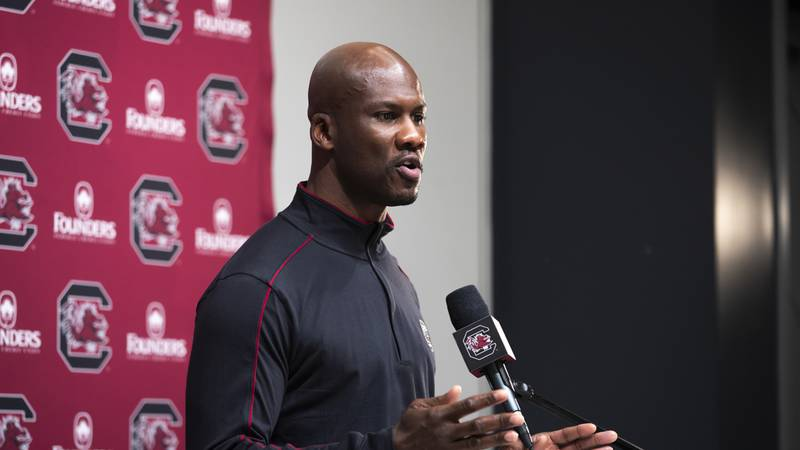 South Carolina defensive backs coach Torrian Gray