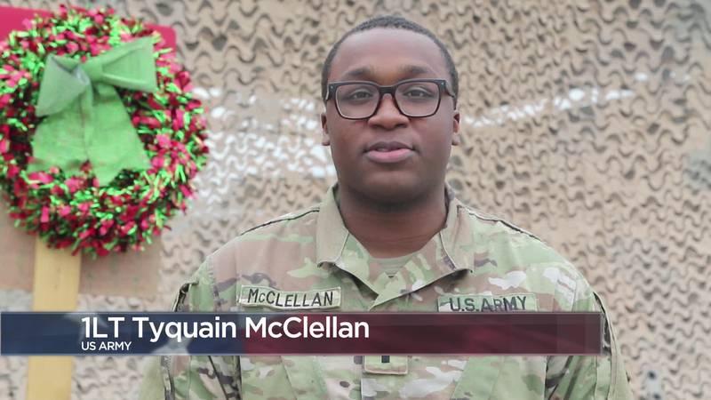 Military Greetings - 1st Lt. Tyquain McClellan