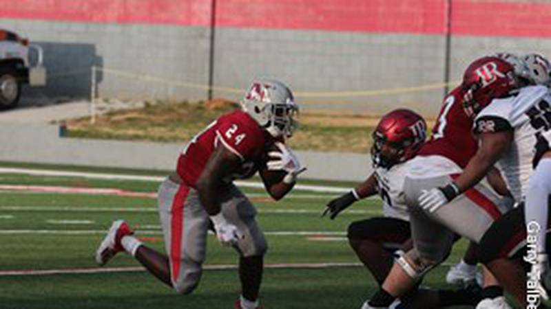 Mario Anderson rushed for a game-high 121 yards and a touchdown.