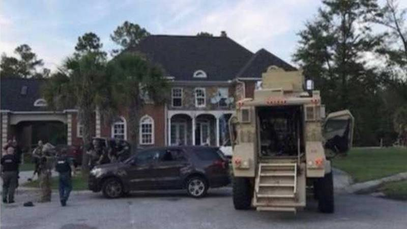 A Florence police officer was killed in a shooting Wednesday that injured six other law...