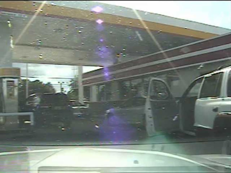 Screen shot of dash cam video. (Source: SCDPS)