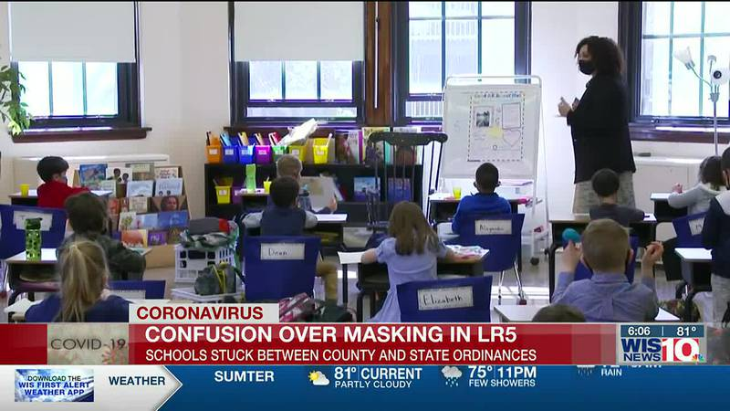 LR5 parents, staff express confusion about Richland County mask mandate
