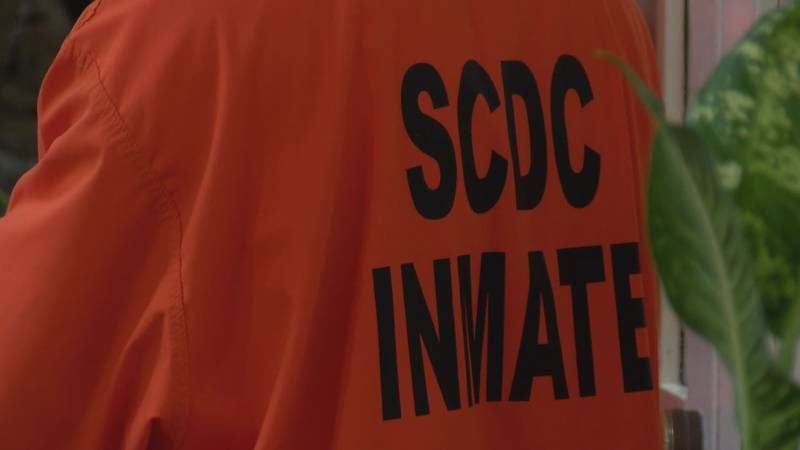 The crime happened at the Camille Graham Correctional Institute back in April, officials said.