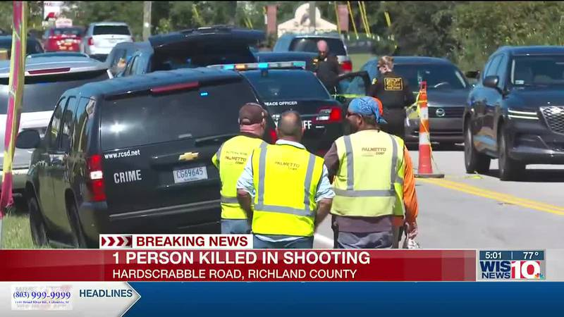 One killed in shooting on Hardscrabble Road in Richland County