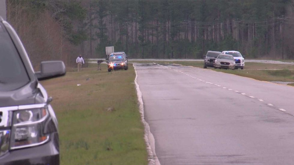 The shooting happened around 11:30 a.m. at a house along Thomas Sumter Highway (U.S. 521)....