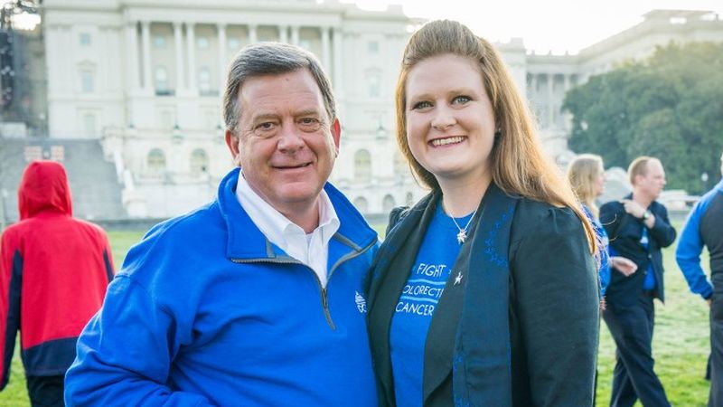 David and Kimberly Wright both survived colorectal cancer.