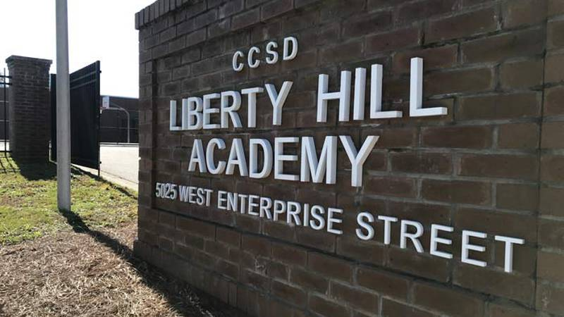 A Liberty Hill Academy teacher had to be taken to the hospital Tuesday morning after police say...