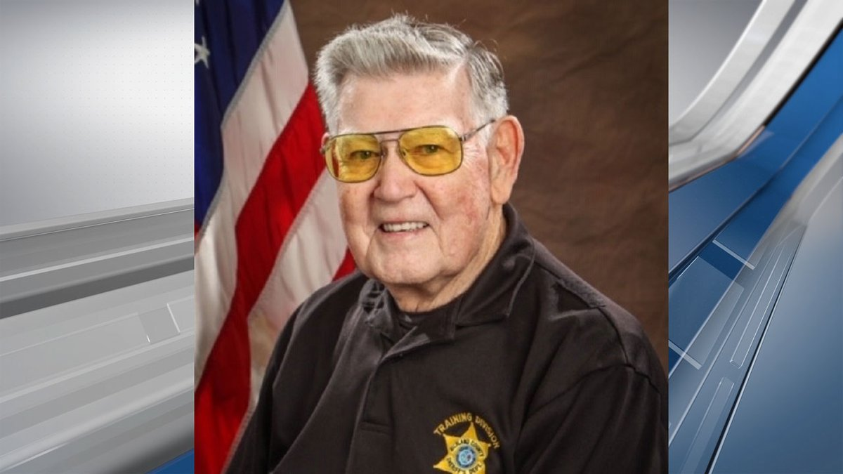 Reserve Deputy Dwight Thomas is retiring after serving 17 years with the Richland County...