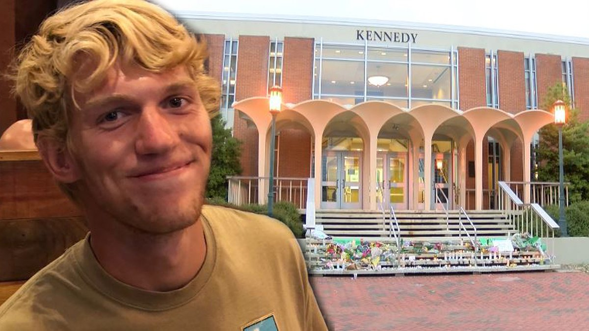 21-year-old Riley Howell died a hero when he tackled a gunman who had opened fire in a...
