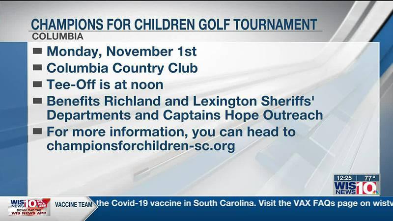 Champions for Children Golf tournament tees off to raise money for Midlands children
