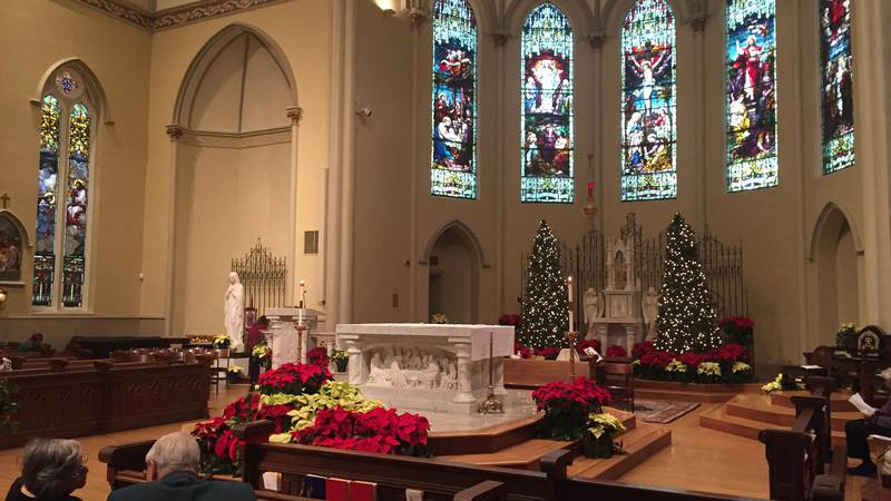 St. Peter's Catholic Church in downtown Columbia was named a minor basilica by the Vatican...