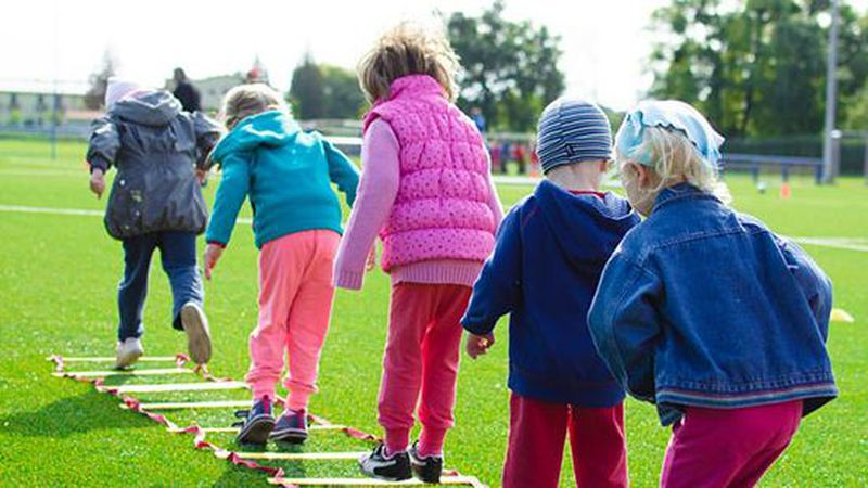 Federal guidelines call for kids to be physically active for 60 minutes per day, but many U.S....