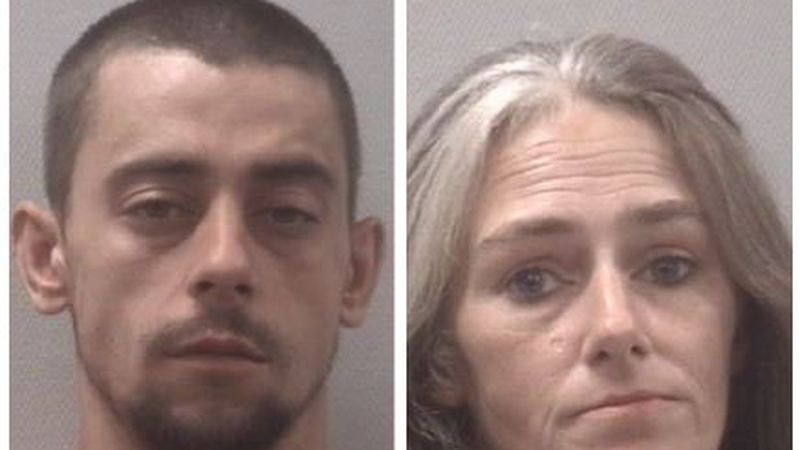 Police in Springdale arrested Lucas Viglianco (left) and Shannon Viglianco (right) Tuesday...