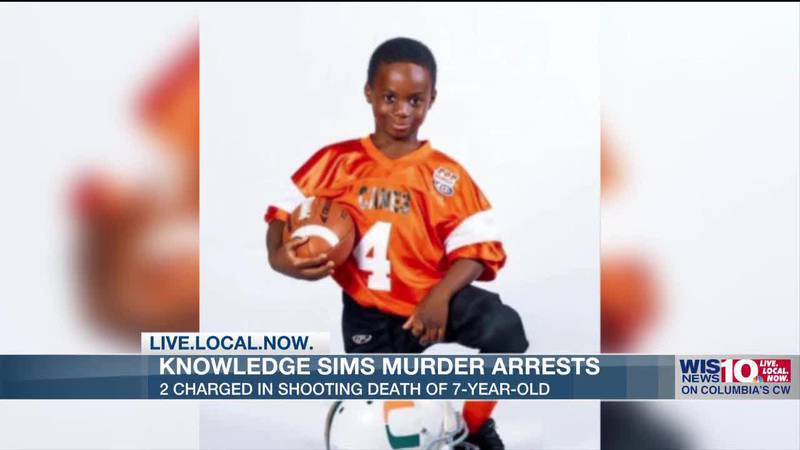 Two charged in connection with fatal shooting of 7-year-old Knowledge Sims