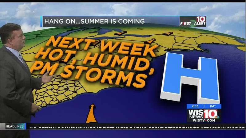 Tim Miller's evening forecast