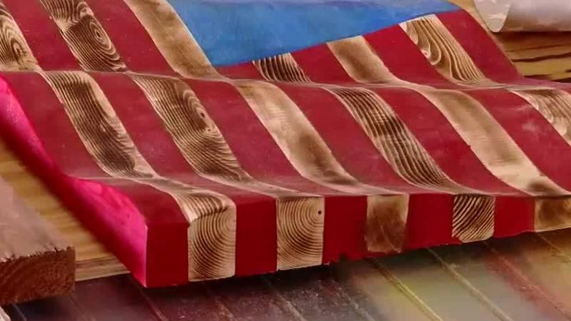 U.S. Marine Veteran Paul Yurkin and his wife Amanda Yurkin's business all began with handmade...