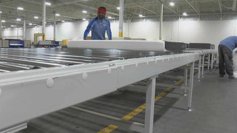 Global mattress company MLILY USA is investing close to $50 million as it takes over a factory...