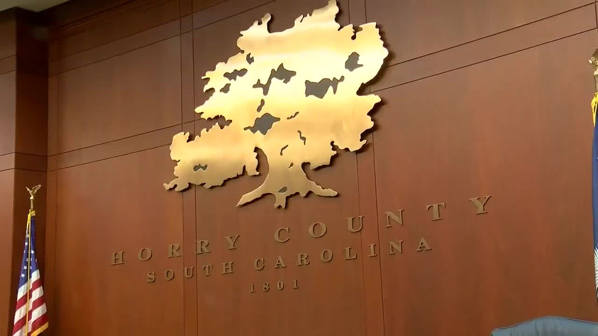 Horry County Council swearing in 5 pm