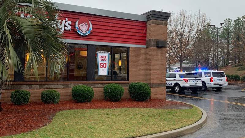 Police are on the scene of an armed robbery at a fast food restaurant in northeast Columbia.