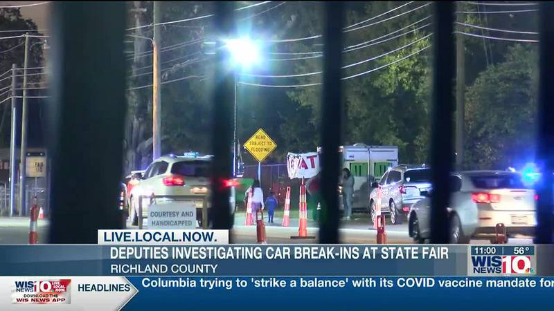 RCSD investigating more than a dozen car break-ins near fairgorunds