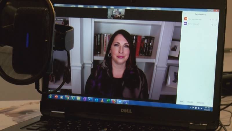 Ronna McDaniel, chairwoman of the Republican National Committee, spoke to WBTV in a Zoom...
