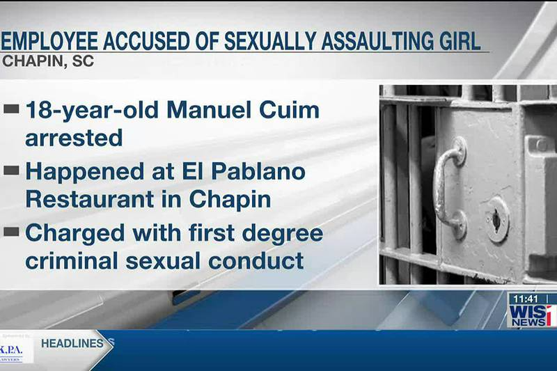 Employee accused of sexually assaulting girl in restaurant bathroom