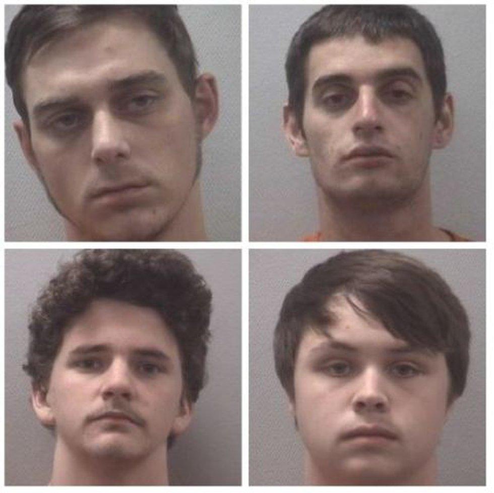 Mark Dilyn Coker Vice, (top left), Brandon Alexander Rodighiero, (top right), Arden Blaize...