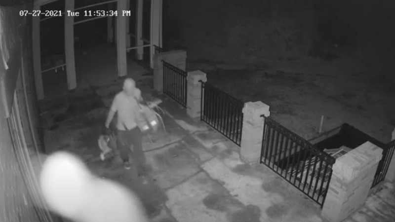 RCSD searching for burglary suspects