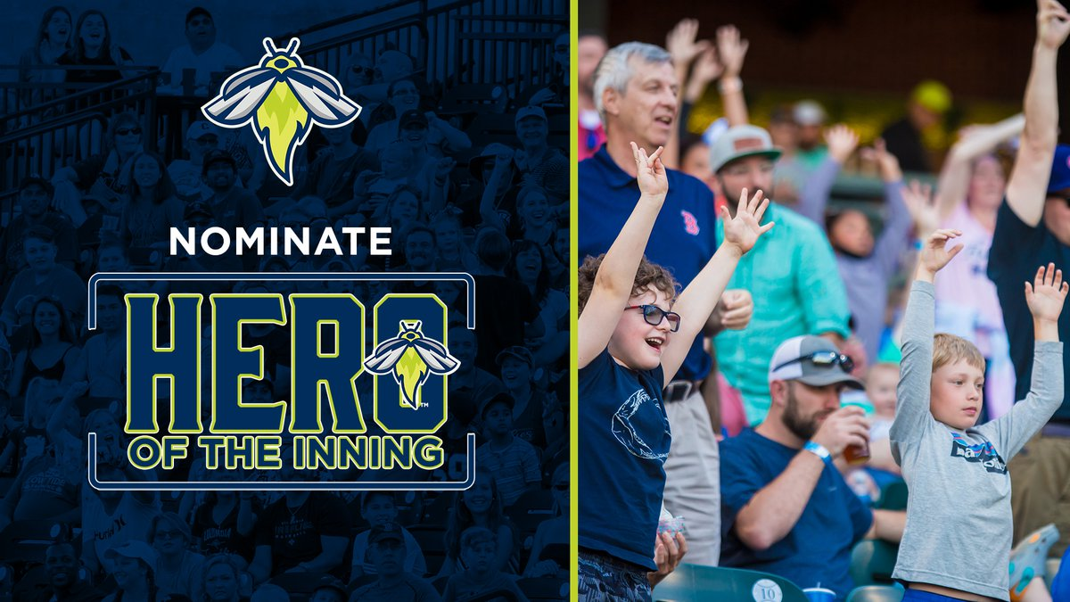 The Fireflies are looking for eight local frontline workers to honor during the game.