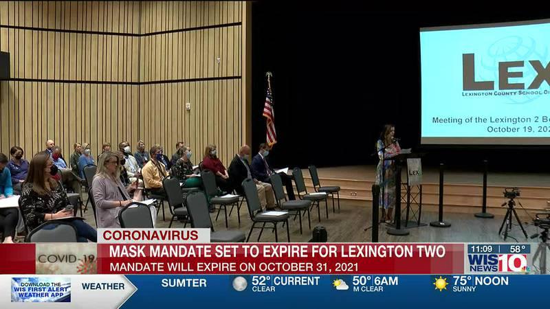 Lexington Two decides to let mask mandate expire