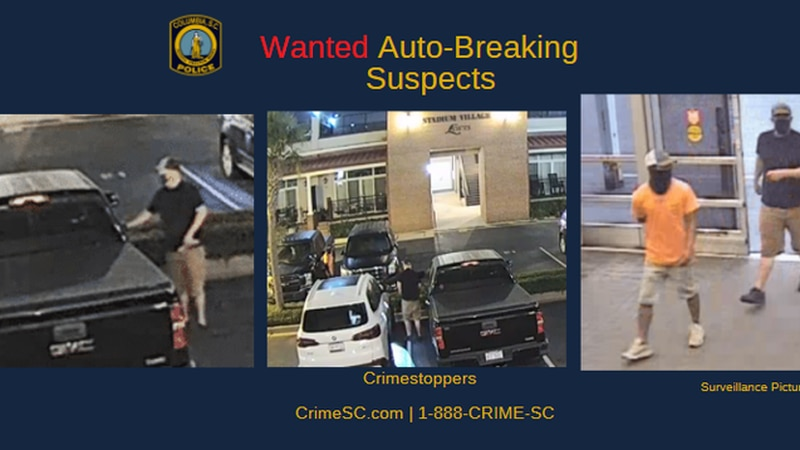 CPD searches for suspects in vehicle break-ins at apartment complex