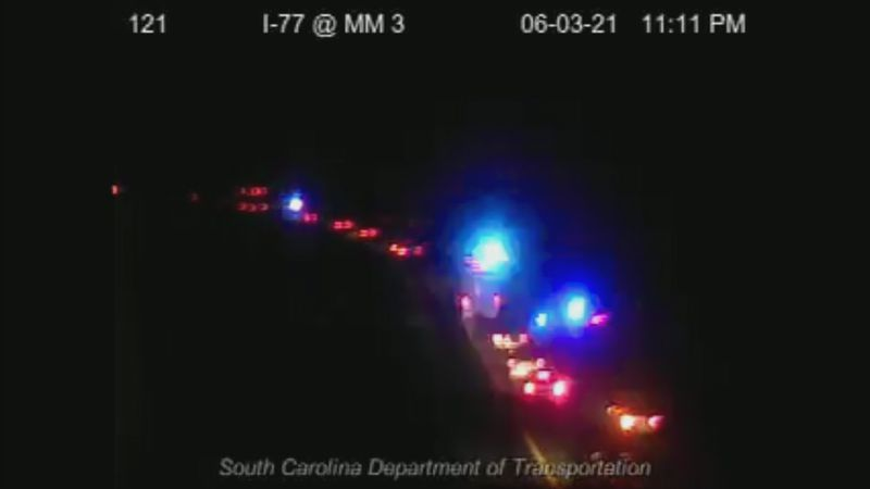One injured in shooting on I-77 in Cayce
