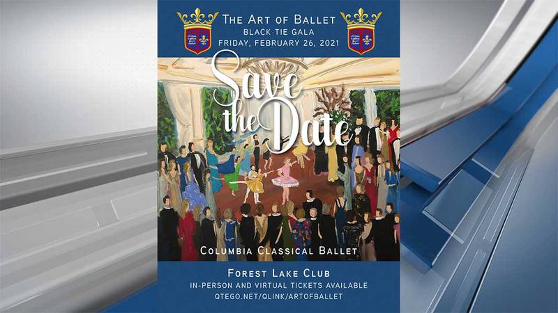 The Art of the Ballet, hosted by the Columbia Classical Ballet, raises money to fund youth...