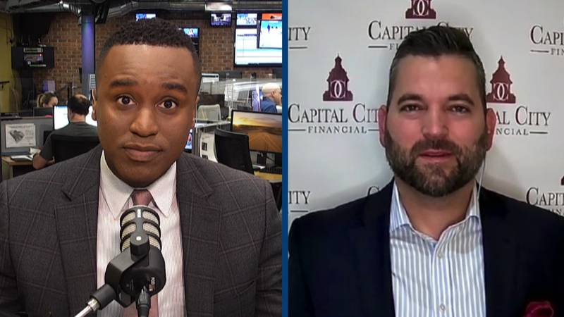 Josh Bradley of Capital City Financial Partners says it's important to keep your emotions in...