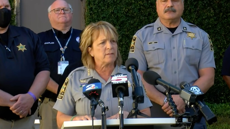 Charleston County Sheriff Kristin Graziano will be holding a press conference on Friday...