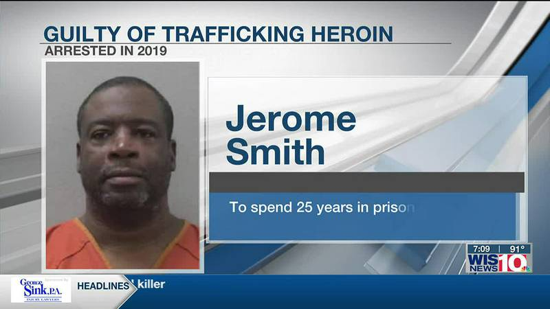 Man to serve 25 years in jail after selling heroin in Walmart parking lot