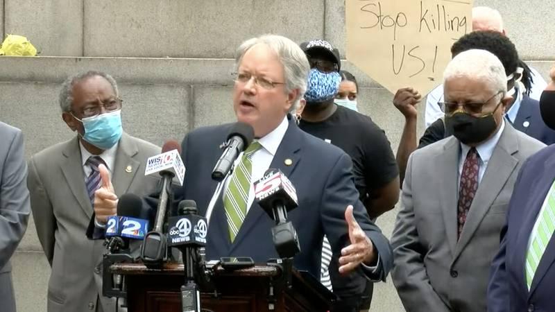 Charleston Mayor John Tecklenburg is calling for the relocation of the John C. Calhoun statue...